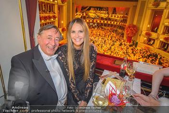 Opernball 2019 - Das Fest - Wiener Staatsoper - Do 28.02.2019 - Elle MACPHERSON, Richard LUGNER83