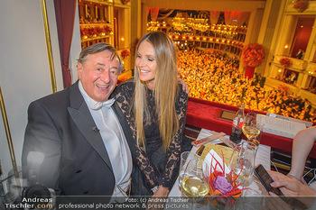 Opernball 2019 - Das Fest - Wiener Staatsoper - Do 28.02.2019 - Elle MACPHERSON, Richard LUGNER84