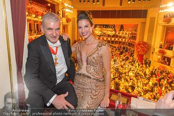 Opernball 2019 - Das Fest - Wiener Staatsoper - Do 28.02.2019 - Arthur und Kristina WORSEG92