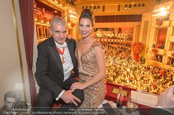 Opernball 2019 - Das Fest - Wiener Staatsoper - Do 28.02.2019 - Arthur und Kristina WORSEG93