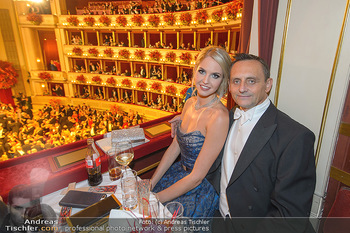 Opernball 2019 - Das Fest - Wiener Staatsoper - Do 28.02.2019 - Beatrice KÖRMER, Heimo TURIN94