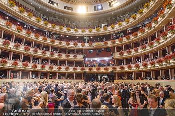 Opernball 2019 - Das Fest - Wiener Staatsoper - Do 28.02.2019 - Ballsaal Übersicht, Tanzfläche, Gäste, Übersichtsfoto, Logen95