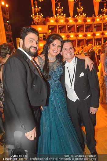Opernball 2019 - Das Fest - Wiener Staatsoper - Do 28.02.2019 - Anna NETREBKO, Yusiv EYVAZOV, Andre COMPLOI116