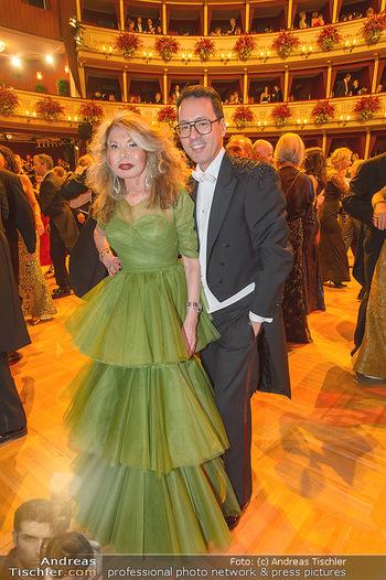 Opernball 2019 - Das Fest - Wiener Staatsoper - Do 28.02.2019 - Jeanine SCHILLER, Thang DE HOO134