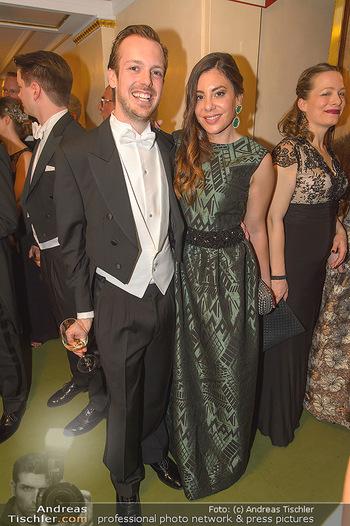 Opernball 2019 - Das Fest - Wiener Staatsoper - Do 28.02.2019 - Niki FELLNER mit Valeria136
