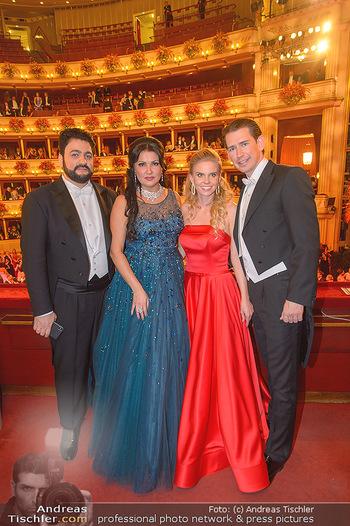Opernball 2019 - Das Fest - Wiener Staatsoper - Do 28.02.2019 - Yusif EYVAZOV, Anna NETREBKO, Sebastian KURZ, Susanne THIER146