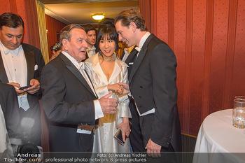 Opernball 2019 - Das Fest - Wiener Staatsoper - Do 28.02.2019 - Gerhard SCHRÖDER, Kim SO-YEON, Sebastian KURZ153