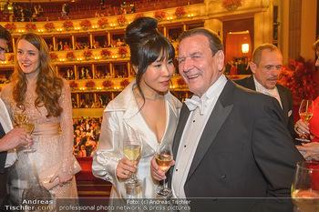 Opernball 2019 - Das Fest - Wiener Staatsoper - Do 28.02.2019 - Gerhard SCHRÖDER, Kim SO-YEON163