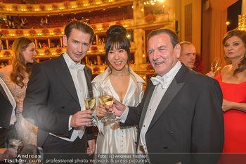 Opernball 2019 - Das Fest - Wiener Staatsoper - Do 28.02.2019 - Gerhard SCHRÖDER, Kim SO-YEON, Sebastian KURZ164