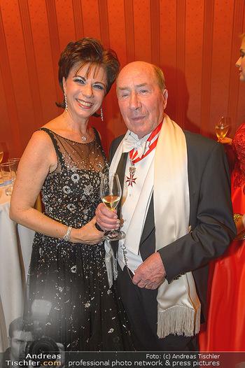 Opernball 2019 - Das Fest - Wiener Staatsoper - Do 28.02.2019 - Erwin und Anita MÜLLER167