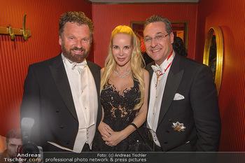 Opernball 2019 - Das Fest - Wiener Staatsoper - Do 28.02.2019 - Gabriel BARYLLI, Silvia Sylvia LEIFHEIT, Heinz Christian HC STRA168