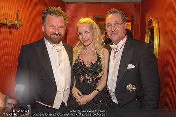 Opernball 2019 - Das Fest - Wiener Staatsoper - Do 28.02.2019 - Gabriel BARYLLI, Silvia Sylvia LEIFHEIT, Heinz Christian HC STRA169