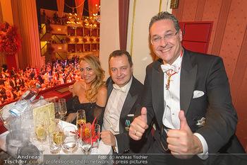 Opernball 2019 - Das Fest - Wiener Staatsoper - Do 28.02.2019 - Ivica DACIC, Heinz Christian HC STRACHE172