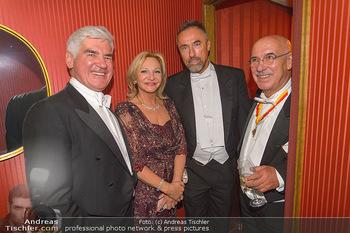 Opernball 2019 - Das Fest - Wiener Staatsoper - Do 28.02.2019 - Michael HEINRITZI, Ingrid FLICK, Robert HOHENSINN, Otto RETZER187