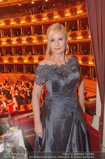 Opernball 2019 - Das Fest - Wiener Staatsoper - Do 28.02.2019 - Sonja SARKÖZI199