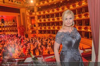 Opernball 2019 - Das Fest - Wiener Staatsoper - Do 28.02.2019 - Sonja SARKÖZI201