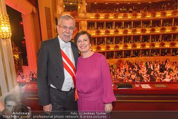 Opernball 2019 - Das Fest - Wiener Staatsoper - Do 28.02.2019 - Doris SCHMIDAUER, Alexander VAN DER BELLEN205