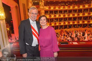 Opernball 2019 - Das Fest - Wiener Staatsoper - Do 28.02.2019 - Doris SCHMIDAUER, Alexander VAN DER BELLEN206