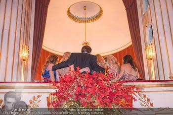 Opernball 2019 - Das Fest - Wiener Staatsoper - Do 28.02.2019 - Victoria SWAROVSKI mit Mutter Alexandra, Susanne THIER, Silvia S212
