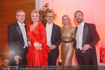 Juristenball - Hofburg Wien - So 03.03.2019 - Nina und Felix ADLON, Silvia SCHNEIDER, Silvio RAHR, Thomas SEID26