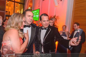 Juristenball - Hofburg Wien - So 03.03.2019 - Nicolas CAGE, Gregor GLANZ mit Freundin Daniela47