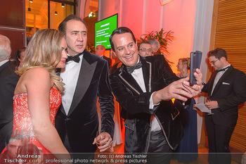 Juristenball - Hofburg Wien - So 03.03.2019 - Nicolas CAGE, Gregor GLANZ mit Freundin Daniela48