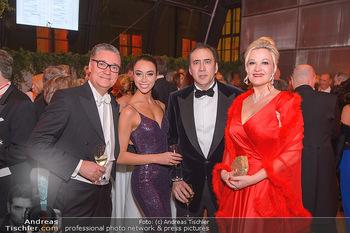 Juristenball - Hofburg Wien - So 03.03.2019 - Nicolas CAGE mit Begleitung, Felix und Nina ADLON53