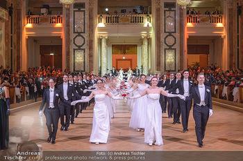 Juristenball - Hofburg Wien - So 03.03.2019 - Debüdaten Einzu, Balleröffnung, Tänzer, Ballsaal61