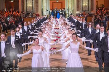 Juristenball - Hofburg Wien - So 03.03.2019 - Debüdaten Einzu, Balleröffnung, Tänzer, Ballsaal62