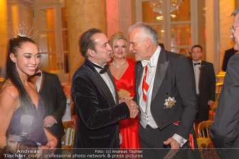 Juristenball - Hofburg Wien - So 03.03.2019 - Nicolas CAGE mit Begleitung, Josef MOSER72