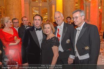 Juristenball - Hofburg Wien - So 03.03.2019 - Nicolas CAGE, Josef MOSER mit Ehefrau Daniela76