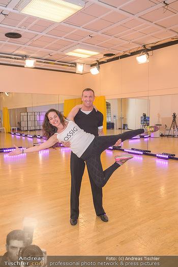 Dancing Stars Proben - ORF Zentrum - Di 05.03.2019 - Roswitha WIELAND, Stefan PETZNER2