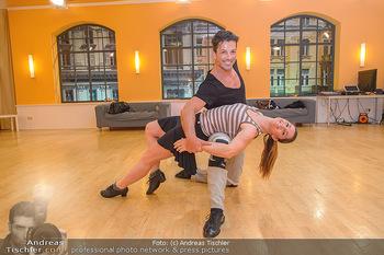 Dancing Stars Proben - ORF Zentrum - Mi 06.03.2019 - Thomas KRAML, Elisabeth Lizz GÖRGL1