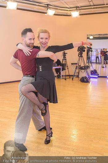Dancing Stars Proben - ORF Zentrum - Mi 06.03.2019 - Sunnyi MELLES, Florian VANA2