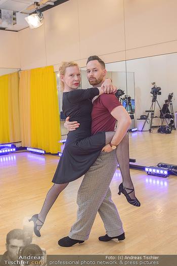 Dancing Stars Proben - ORF Zentrum - Mi 06.03.2019 - Sunnyi MELLES, Florian VANA7