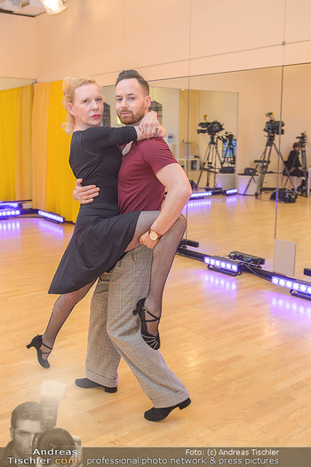 Dancing Stars Proben - ORF Zentrum - Mi 06.03.2019 - Sunnyi MELLES, Florian VANA8