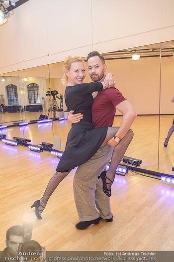 Dancing Stars Proben - ORF Zentrum - Mi 06.03.2019 - Sunnyi MELLES, Florian VANA9