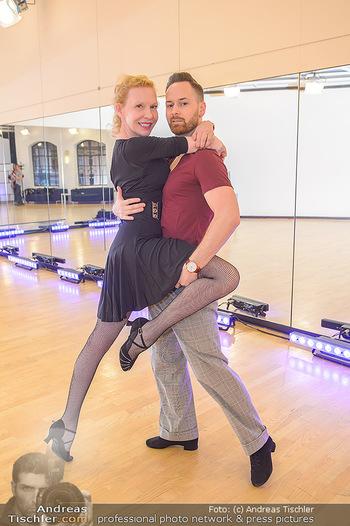 Dancing Stars Proben - ORF Zentrum - Mi 06.03.2019 - Sunnyi MELLES, Florian VANA10