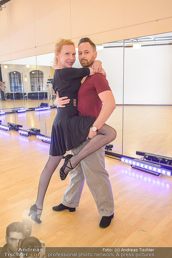Dancing Stars Proben - ORF Zentrum - Mi 06.03.2019 - Sunnyi MELLES, Florian VANA11