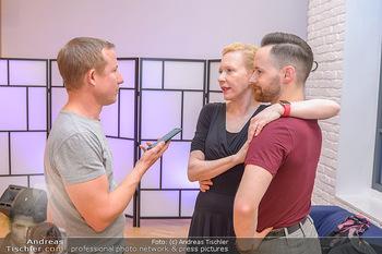 Dancing Stars Proben - ORF Zentrum - Mi 06.03.2019 - Sunnyi MELLES, Florian VANA, Stefan WEINBERGER13
