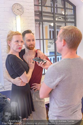 Dancing Stars Proben - ORF Zentrum - Mi 06.03.2019 - Sunnyi MELLES, Florian VANA, Stefan WEINBERGER14