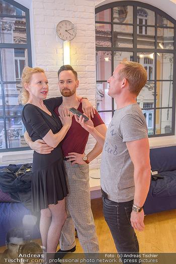 Dancing Stars Proben - ORF Zentrum - Mi 06.03.2019 - Sunnyi MELLES, Florian VANA, Stefan WEINBERGER15