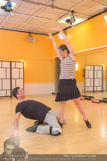 Dancing Stars Proben - ORF Zentrum - Mi 06.03.2019 - Thomas KRAML, Elisabeth Lizz GÖRGL16