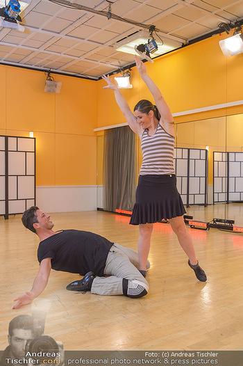 Dancing Stars Proben - ORF Zentrum - Mi 06.03.2019 - Thomas KRAML, Elisabeth Lizz GÖRGL17