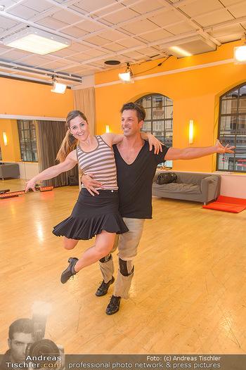 Dancing Stars Proben - ORF Zentrum - Mi 06.03.2019 - Thomas KRAML, Elisabeth Lizz GÖRGL19