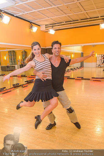 Dancing Stars Proben - ORF Zentrum - Mi 06.03.2019 - Thomas KRAML, Elisabeth Lizz GÖRGL21