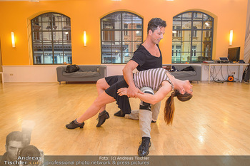 Dancing Stars Proben - ORF Zentrum - Mi 06.03.2019 - Thomas KRAML, Elisabeth Lizz GÖRGL22