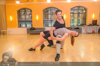 Dancing Stars Proben - ORF Zentrum - Mi 06.03.2019 - Thomas KRAML, Elisabeth Lizz GÖRGL23