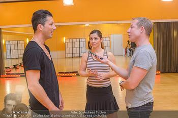 Dancing Stars Proben - ORF Zentrum - Mi 06.03.2019 - Thomas KRAML, Elisabeth Lizz GÖRGL. Stefan WEINBERGER24