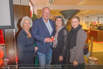 Meinl Poesie PK - Meinl Zentrale - Di 12.03.2019 - Anita und Bernd QUERFELD, Andrea WINKLER mit Tochter (Caroline?)30